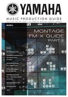 yamaha music production guide history english