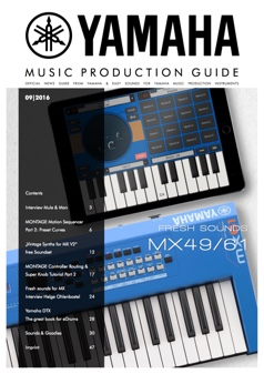 Yamaha Music Production Guide History -English-